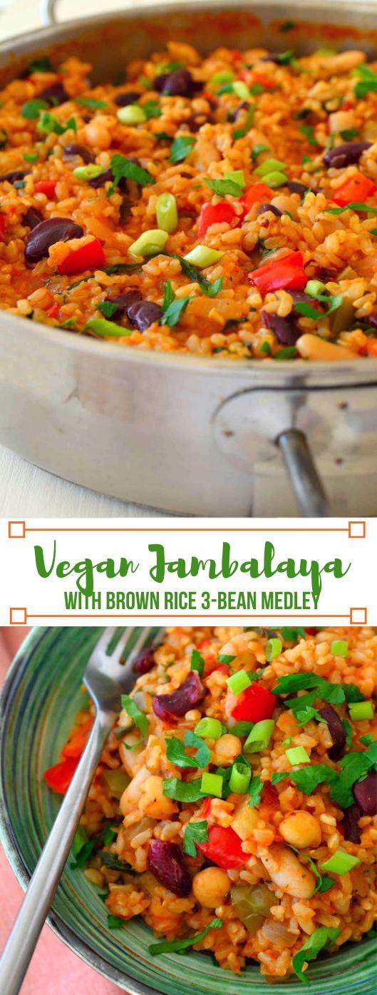 Vegan Jambalaya #vegetable #shrimp #dinner #healthyrecipes #yummy