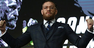 Conor McGregor announces his UFC return date as 18th January at T-Mobile Arena in Las Vegas..