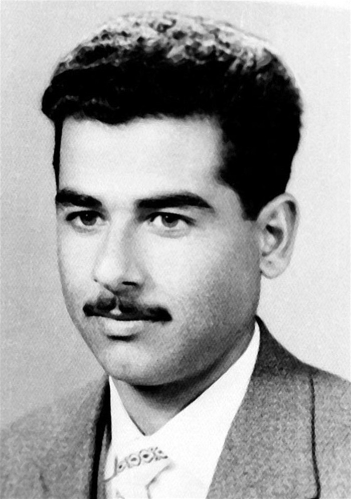 30 Pictures Of World Leaders In Their Youth That Will Leave You Speechless - Young Saddam Hussein, The Former President Of Iraq