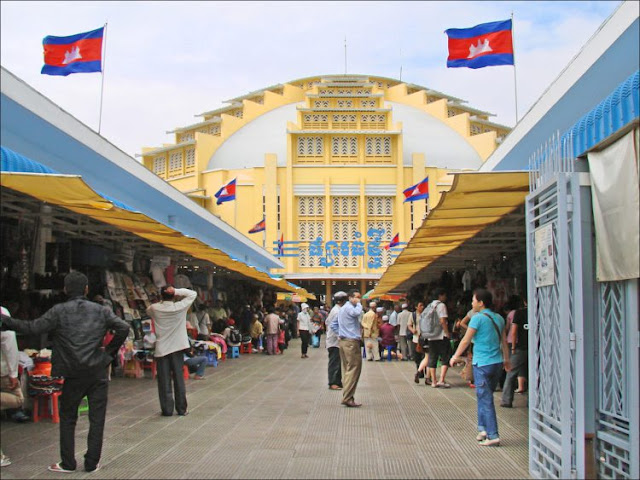 Mercado Psar Tmei (Phnom Penh)
