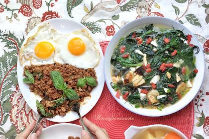 Thai Minced Pork Basil (泰式猪肉碎炒罗勒) pat Krapao Moo Sap