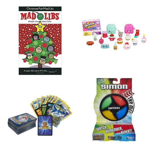 Fun & creative stocking stuffers for kids.  Lots of ideas I've never thought of! #stockingstuffers #stockingstuffersforkids #stockingstufferideas #stockingstufferscreative #kidsstockingstuffers #growingajeweledrose #activitiesforkids #stockingstufferideasforkids