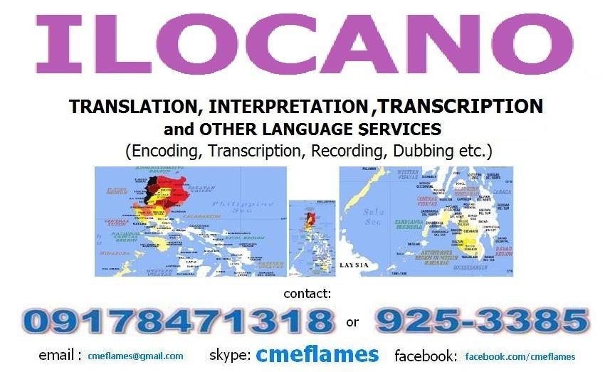 Ilocano dictionary
