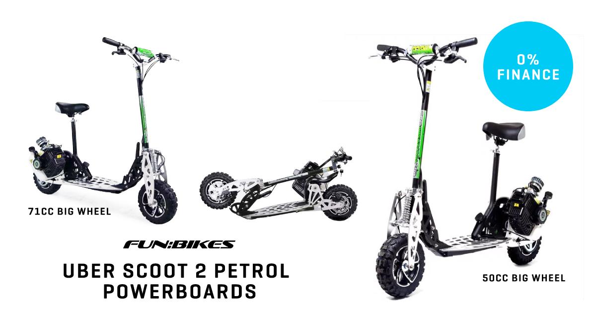 Uber Scoot Petrol Powerboards