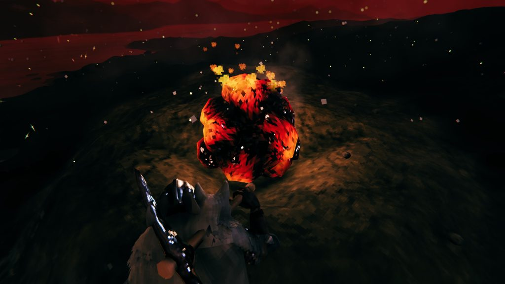 Fire core already exists in the Ashen lands, but has no known purpose yet.