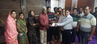 राहुल कुमार अशोक कुमार महेश्वरी के निवास पर सुंदरकांड का आयोजन किया गया
