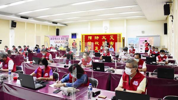 璨樹颱風襲台 彰化縣災害應變中心一級開設