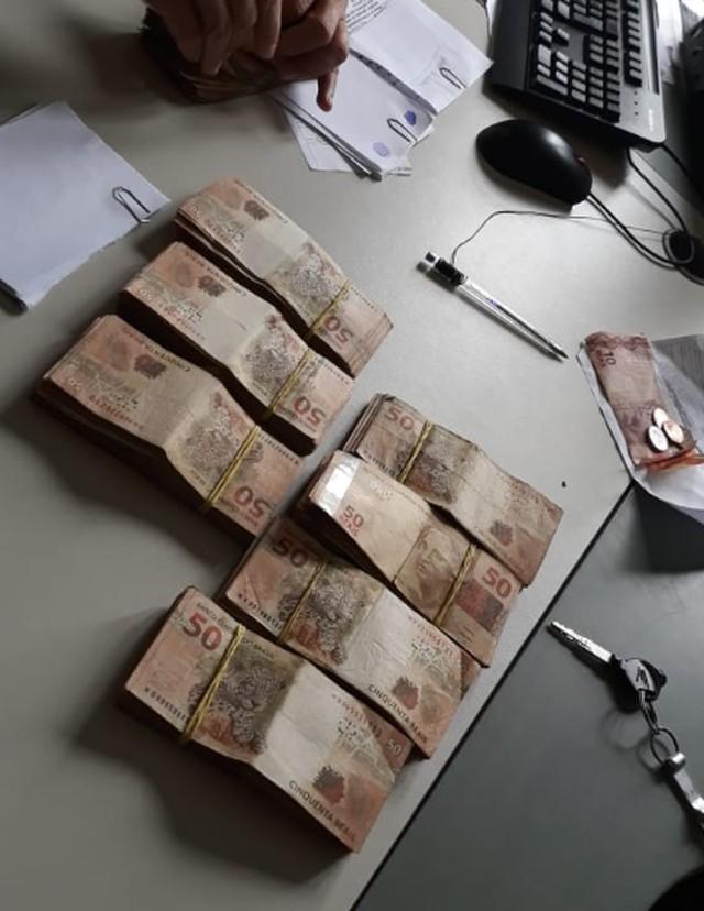 Polícia recupera mais de R$ 40 mil roubados de casa lotérica em Ubajara