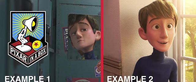 Pixar in a Box Lighting Example from Incredibles 2