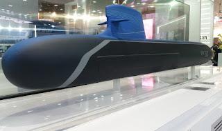 Konsep Kapal Selam SMX 3.0 Naval Group