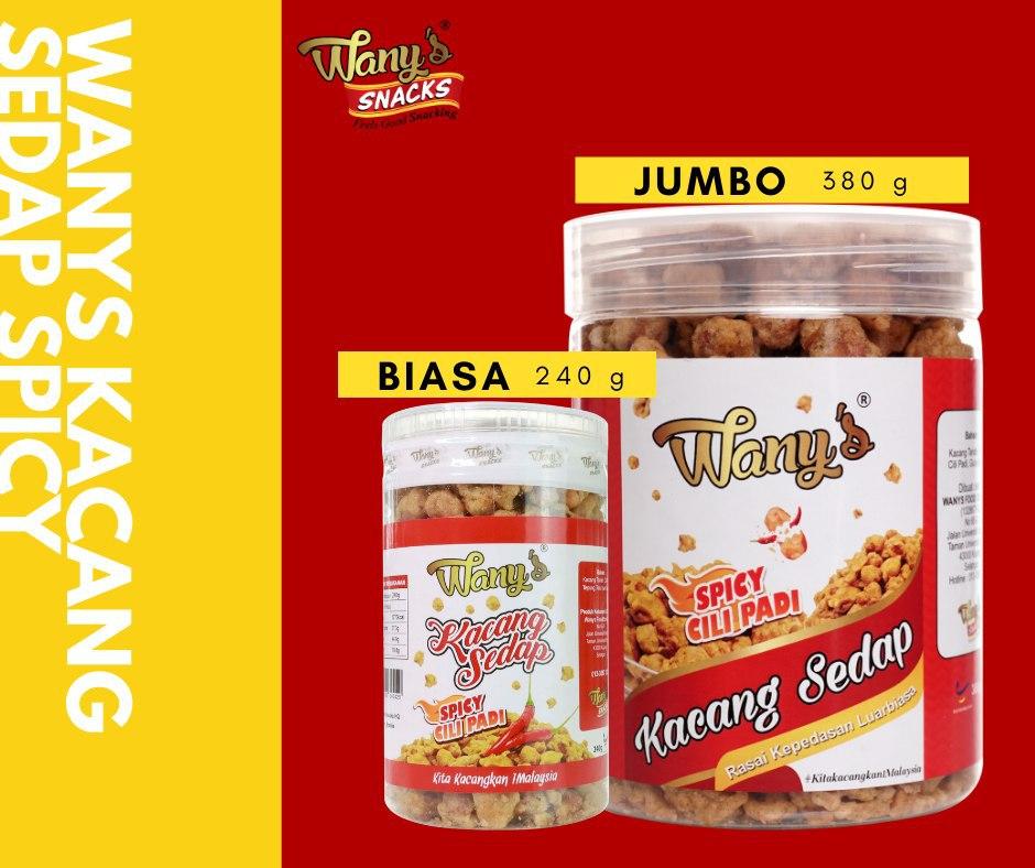 packaging kacang wanys