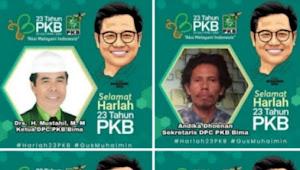 Sekjen DPC PKB, Mewakili PAC Se - Kabupaten Bima, Mengucapkan Selamat Atas Terpilihnya H. Mustahid Periode Ke Tiga Kalinya