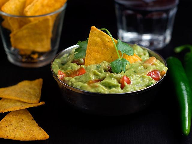 Authentic Guacamole Recipe Food Network