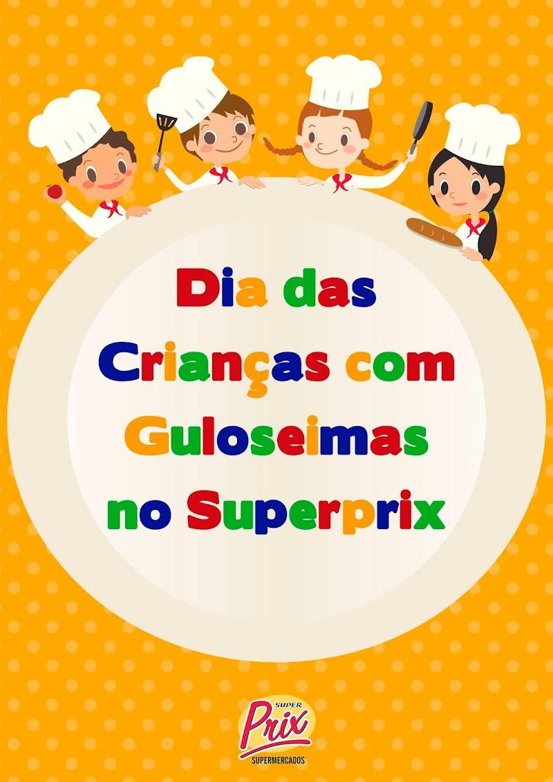 SuperPrix homenageia o Dia das Crianças com Circuito Guloseima