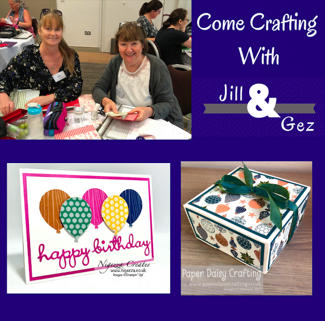 Come Crafting With Jill & Gez, The One When We Case'd Each Other