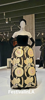 Rita Moreno's winning dress at the Museum of Motion Pictures