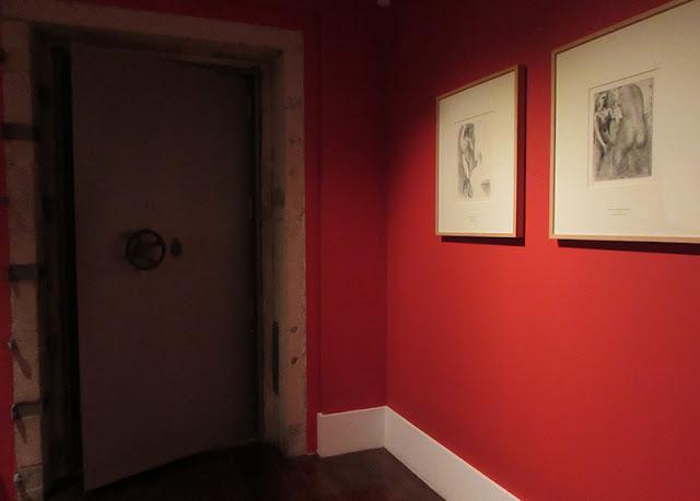 uma das salas da exposição Suite Vollard