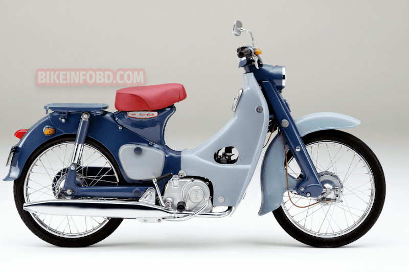 Honda Super Cub 50 Specifications, Review, Top Speed, Picture, Engine, Parts & History
