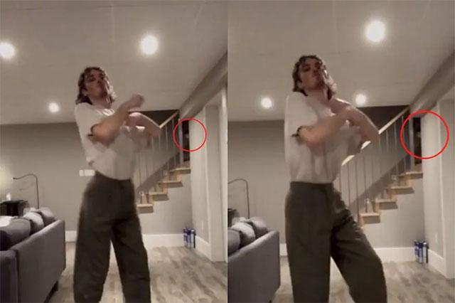 penampakan video tiktok hantu