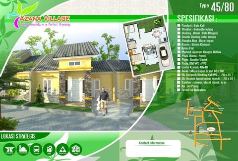 Azana Village Sawangan