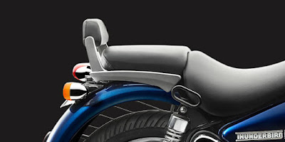 Royal Enfield Thunderbird 500 back rest