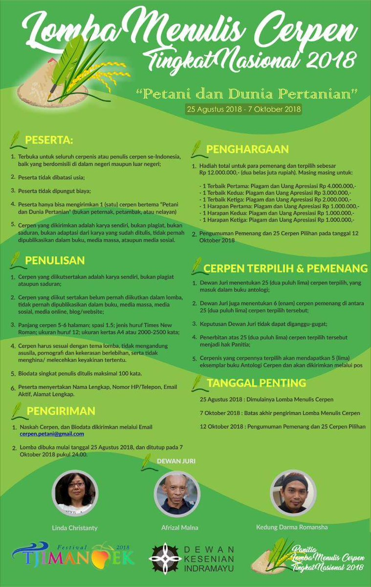 Lomba Menulis Cerpen Tingkat Nasional 2018 Blog And Inspiration