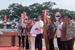 Jokowi Ke Lampung Untuk Meresmikan Jalan TOL Sumatera (Tol terpanjang Se-Indonesia)