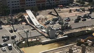 Florida pedestrian bridge collapse