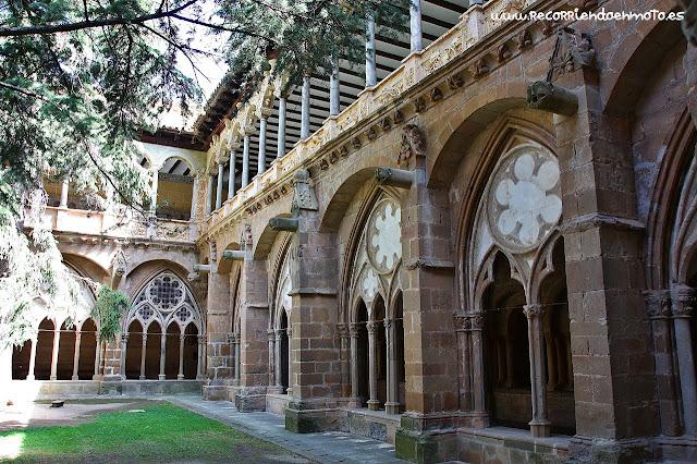 Exterior del Claustro monasterio de Veruela
