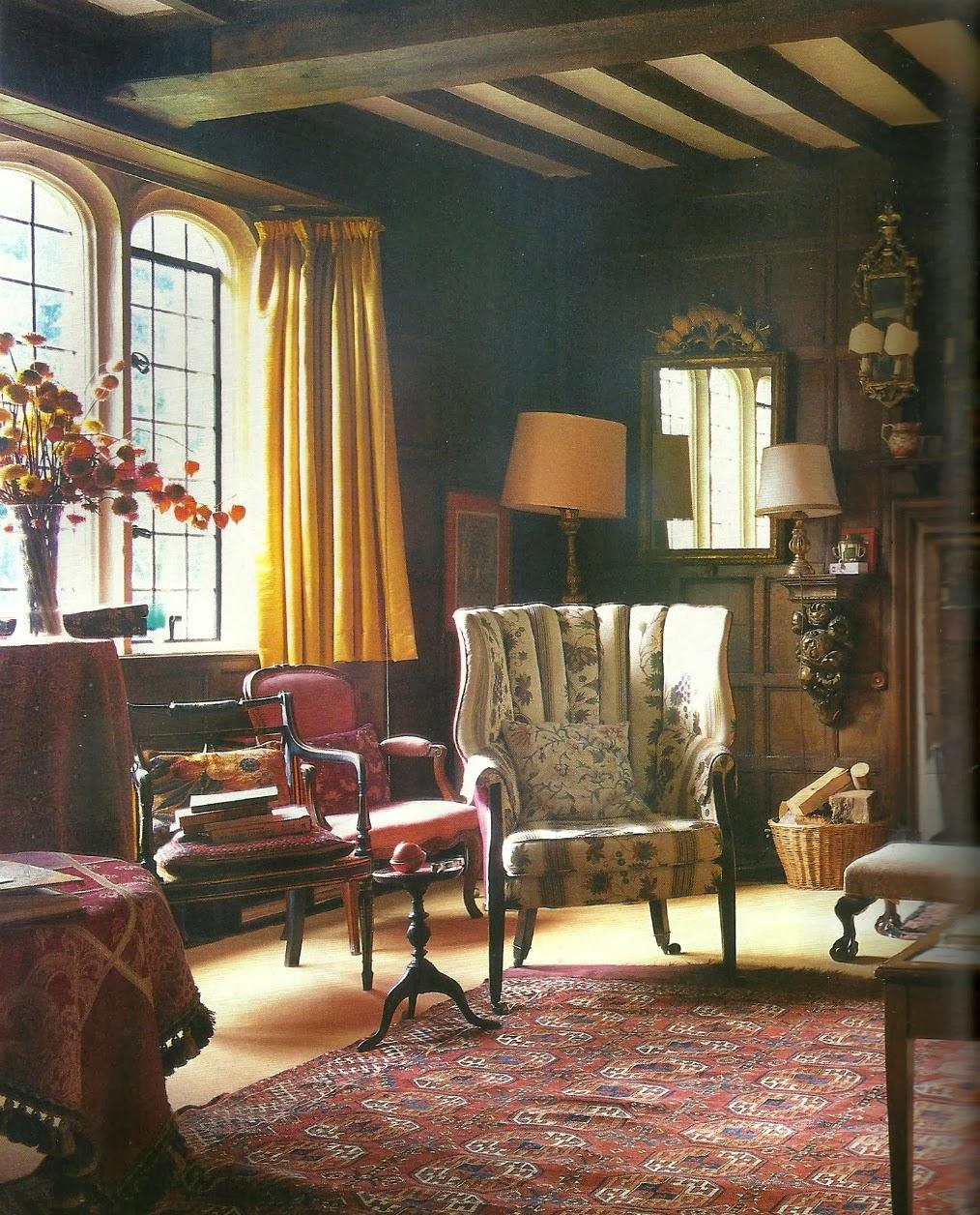 English Cottage Village: Ottoline Divine: Return To Garsington