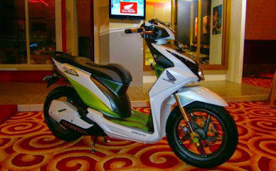 Modifikasi Beat FI 2016 Road Race