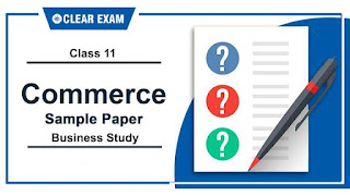 Sample Papers Class 11 Business Studies