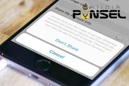Masalah Nama Kontak Whatsapp Tidak Muncul di iPhone
