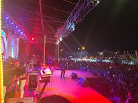 Babang Tamvan Tampil di Pekan Raya Lampung, Penonton: Keren Yai