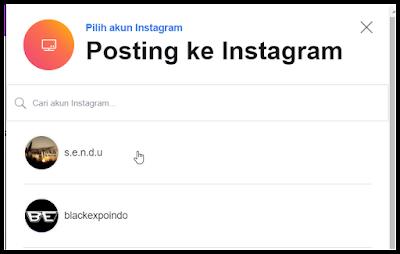 Posting Terjadwal di Instagram