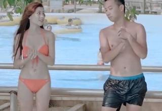 Yến Xôi mặc bikini khoe hàng-Yến Xôi kem xôi lấy chồng lộ núm khoe hàng