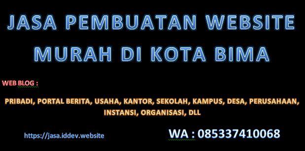 Jasa Pembuatan Website / Blog Murah di Kota Bima