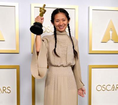 "Best Director Chloé Zhao, ""Nomadland"""