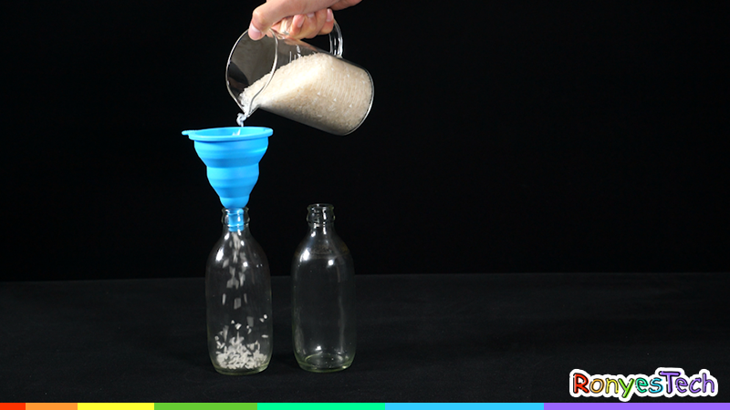 Floating Rice Bottle | STEM Activity Step 1