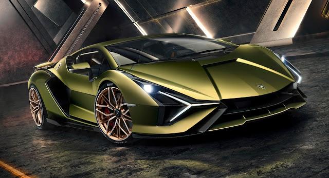 Frankfurt Motor Show, Hybrids, Lamborghini, Lamborghini Sian, New Cars