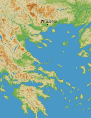 Μάχη των Φιλίππων. (3 & 23 Οκτωβρίου 42 π.χ.) Η μάχη που άλλαξε την πορεία της Ρωμαϊκής Αυτοκρατορίας.