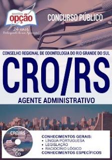 apostila-cro-rs-agente-administrativo-2018
