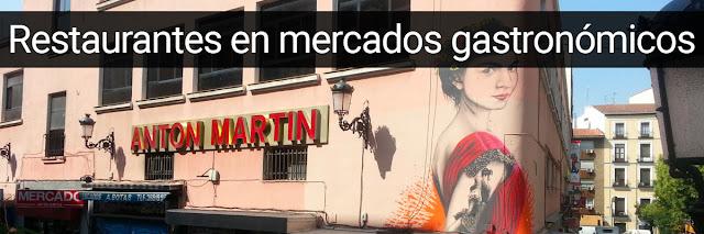 mejores restaurantes de los mercados gastronómicos de Madrid