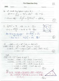 2021 HKDSE Maths P2 MC Detailed Solution 數學 卷二 答案 詳解 Q16,17,18,19