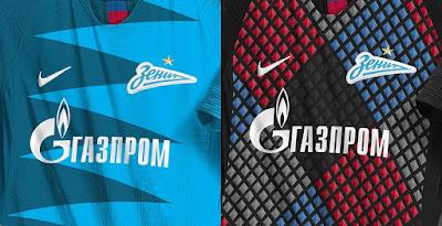 on sale 888eb 6c674 Stunning Nike Zenit 18-19 Home  Away Kit Concepts by Franco Carabajal