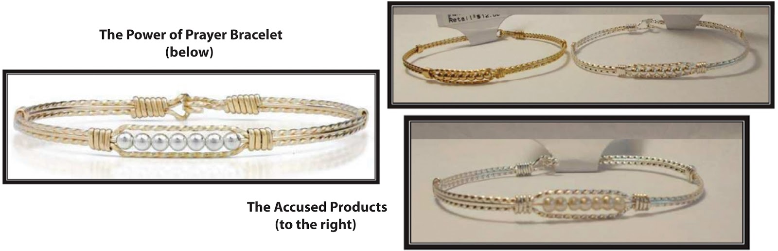 Jewelry Design Theft Raised by Ronaldo Designer Jewelry Against