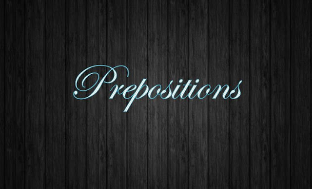 Prepositions of time and Prepositions of place