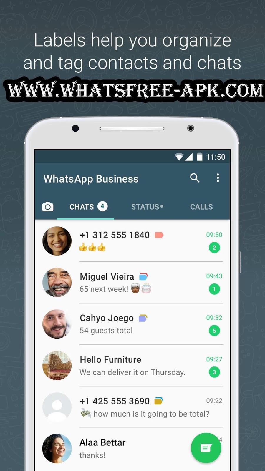 تحميل واتساب بزنس الجديد مجانا 2020 whatsapp business