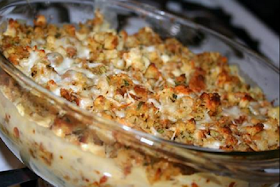 Chicken and Stuffing Casserole!