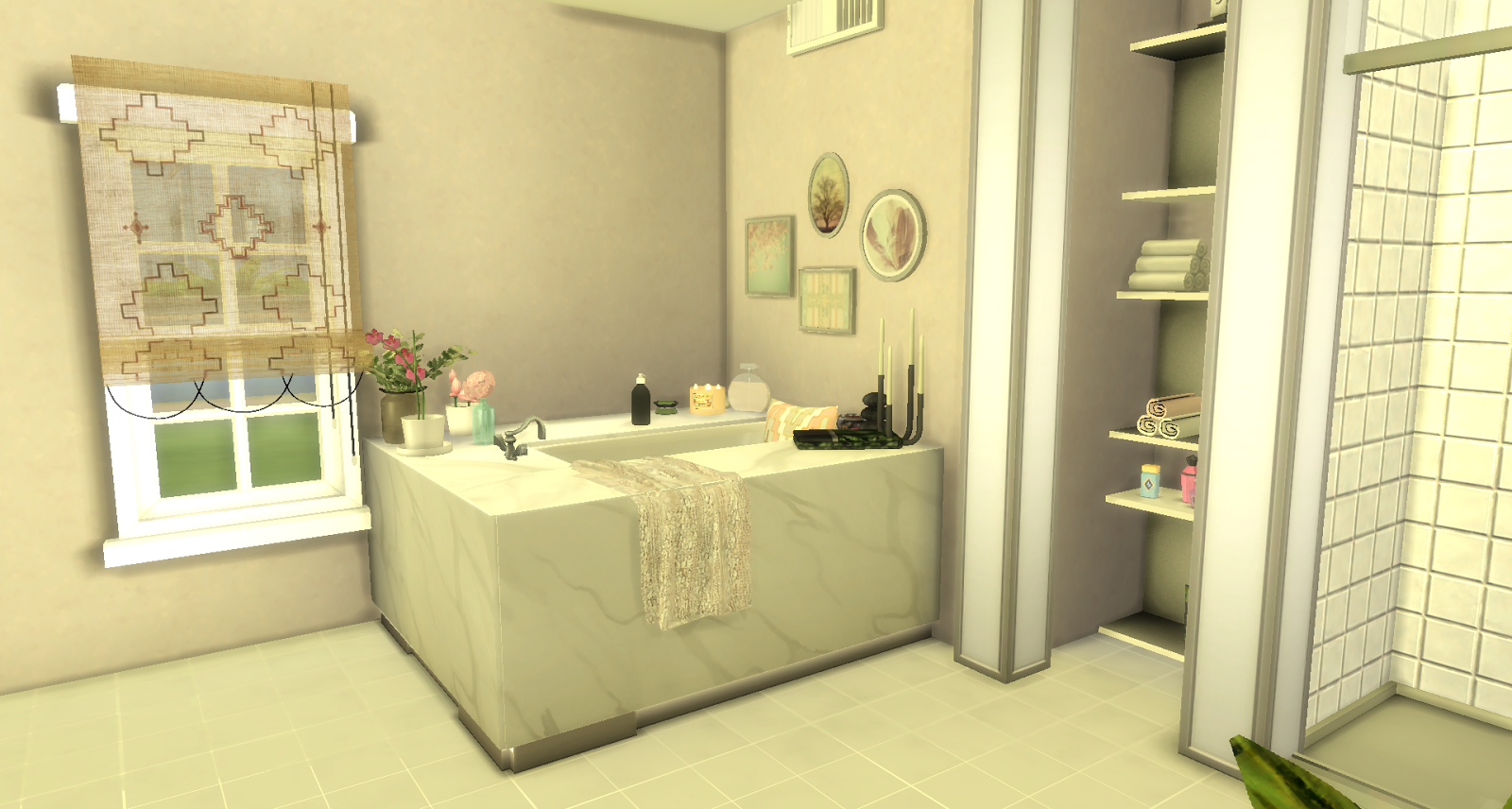 Benson the sims 4 download the sims 4 building and for Bathroom ideas sims 3